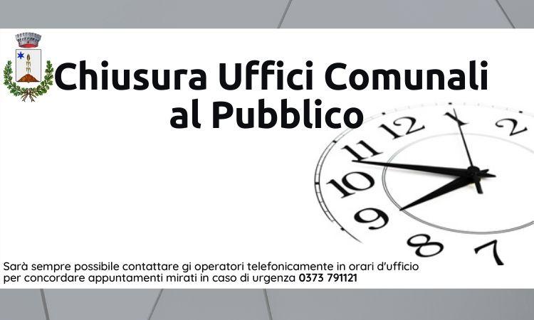 Chiusura uffici pubblico