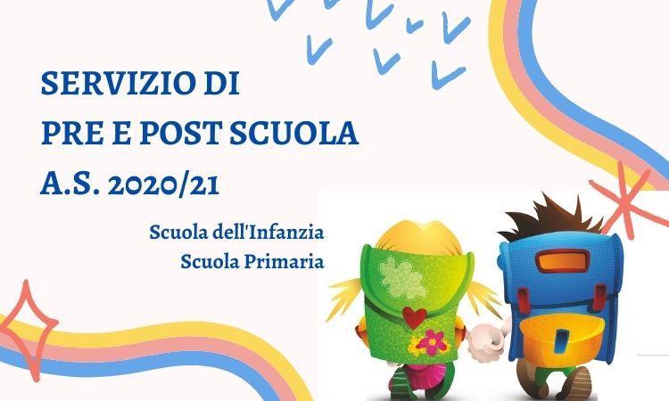 Pre e post scuola 2020/2021