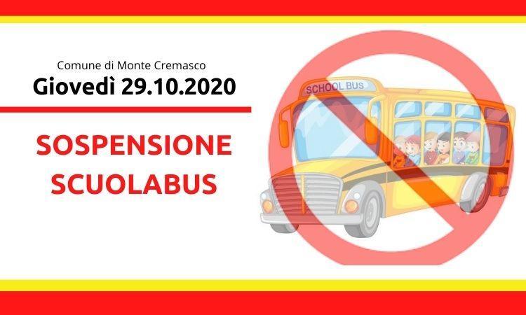 Sospensione scuolabus